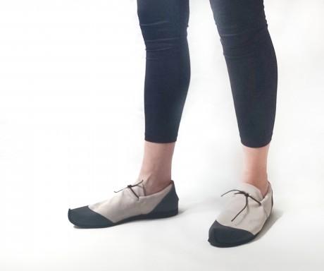 נעל ספורט נמוכה אופווייט + שחור- טבעוני