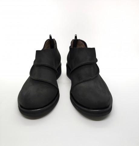 נעל ספירלה שחור